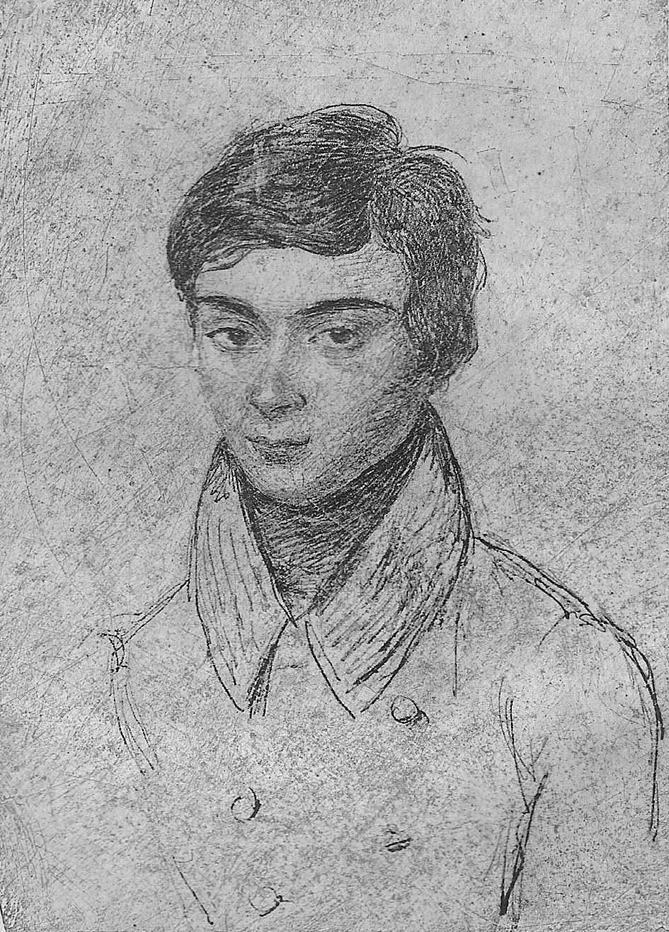 Un portrait d'Évariste Galois, le mathématicien mort trop jeune. © Domaine public