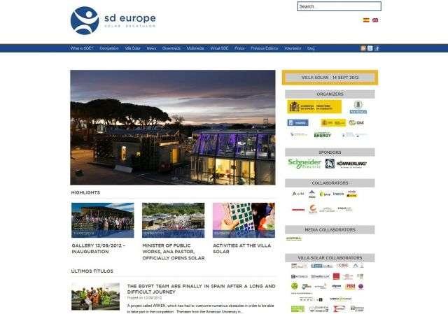 Le site www.sdeurope.org présente la compétition : objectif, déroulement, équipes, historique... Il est prévu que la France organise le Solar Decathlon Europe de 2014. © Tous droits réservés