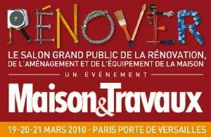 Le salon Rénover 2010 aura lieu du 19 au 21 mars, à Paris, Porte de Versailles. © DR