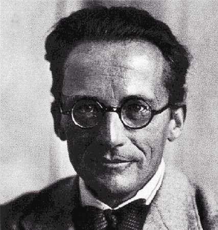 Le prix Nobel de physique Erwin Schrôdinger. © th.physik.uni-frankfurt