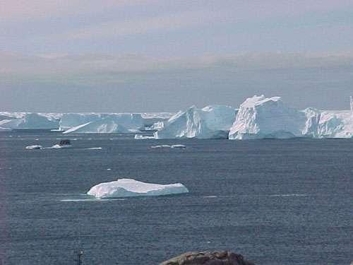 Un paysage de l'Antarctique. Crédit : Taaf