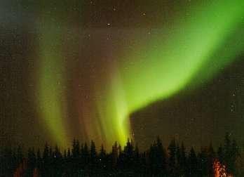Les éruptions solaires donne lieu à de superbes aurores boréales sur Terre