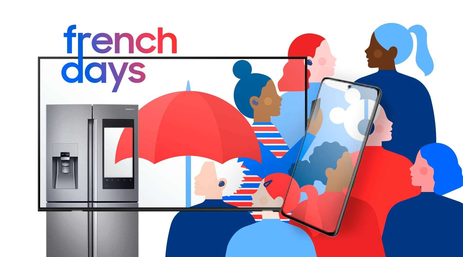 C'est les French Days chez Samsung ! © Samsung