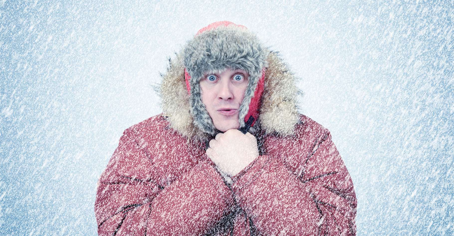 Le 22 décembre 1991, il a fait très froid au Groenland. Mais le record absolu de froid reste du côté de l'Antarctique, avec -89,2 °C officiellement enregistrés par la station météorologique de Vostok le 21 juillet 1983. © afxhome, Adobe Stock