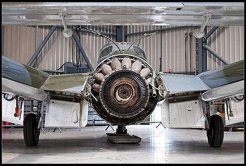 John Barber lance l'idée de la turbine à gaz qui repose sur le cycle de Joule. © velodenz, CC BY-NC-ND 2.0, Flickr