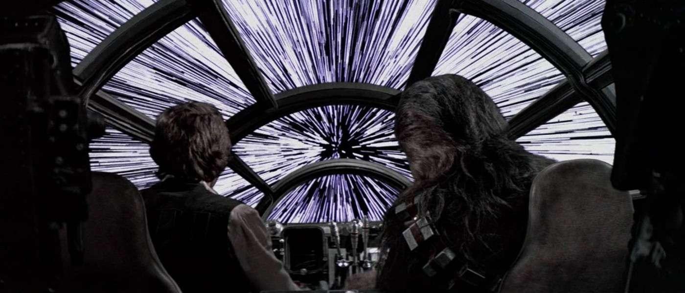 Dans Star Wars, que voit Han Solo lorsque son Faucon Millenium plonge dans l'hyperespace en vitesse lumière ? © davnes007, YouTube, capture d'écran