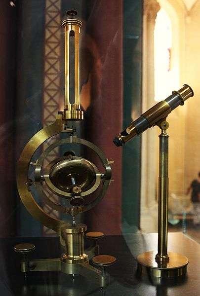 Le physicien Léon Foucault démontre le phénomène des courants magnétiques terrestres et invente le gyroscope. © Stéphane Magnenat, Domaine public, Wikimedia Commons