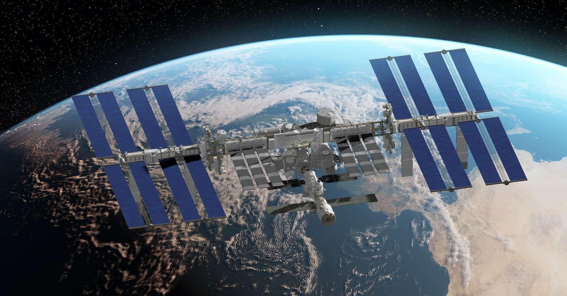 La Station spatiale internationale est prévue pour fonctionner au moins jusqu'en 2024. © SciePro, Adobe Stock