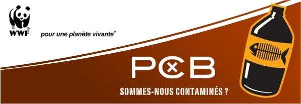 Le logo choisi par WWF pour dénoncer les dangers des PCB présents dans l'environnement. © WWF