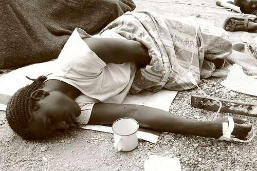 Le choléra a déjà fait plus de 1.400 victimes en Haïti. La bactérie pourrait en plus contaminer 200.000 personnes au cours des trois prochains mois. © Sokwanele - Zimbabwe, MSF, Flickr, CC by-nc-sa 2.0