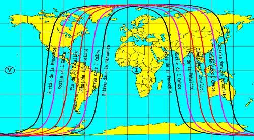 Éclipse totale de Lune visible en Australie, au Japon, en Chine, en Nouvelle-Calédonie, et en Polynésie
