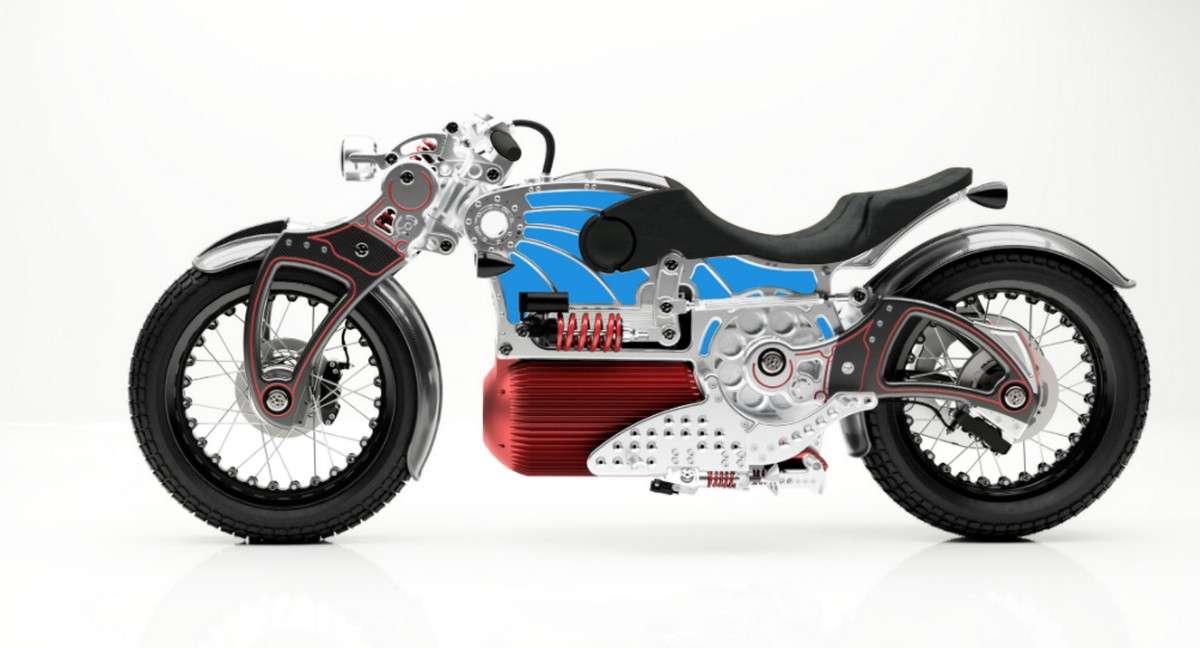 Le moto électrique Curtiss One sera entièrement assemblée à la main et propose de nombreuses options de finitions. © Curtiss Motorcycles