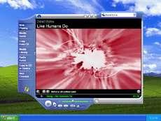 Windows Media Player 8 pour Microsoft Windows XP