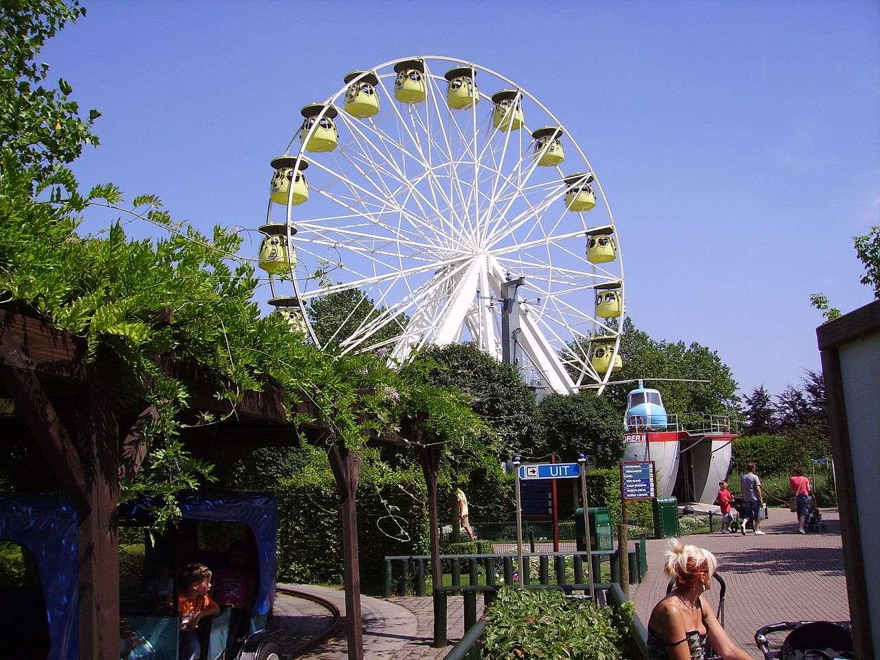 Le Boudewijn Seapark, à Bruges, un des parcs d'attractions de Belgique, doit son nom, en 1963, au roi Baudouin. © Immanuel Giel, Wikimedia Commons, DP