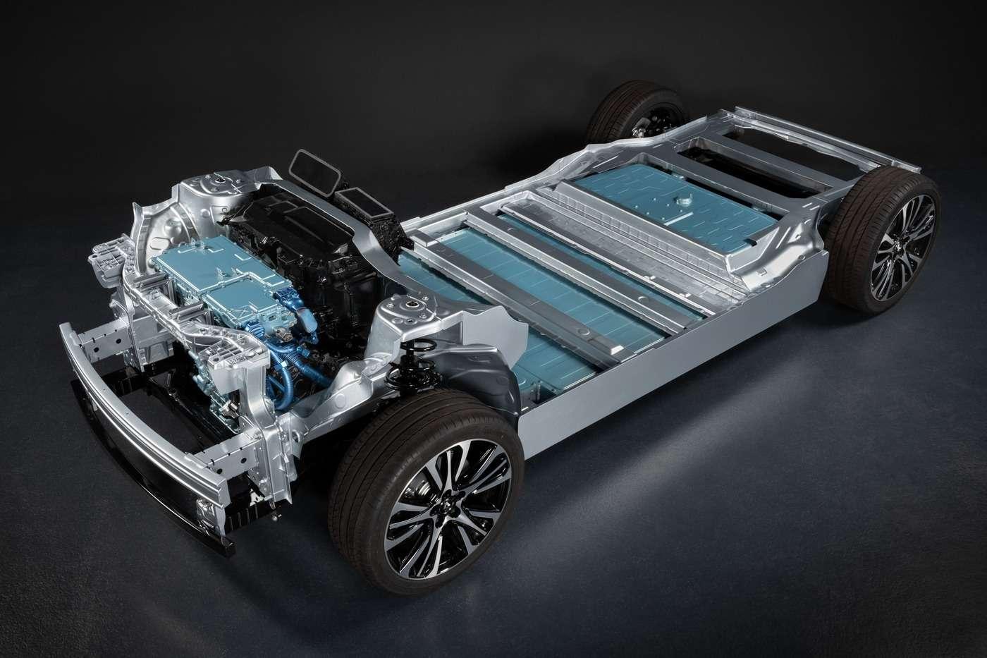 La plateforme CMF-EV servira à la construction des futurs modèles électrique de Renault, Nissan et Mitsubishi. © Renault