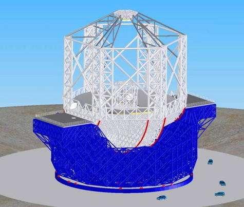 Ce que pourrait être un très grand télescope