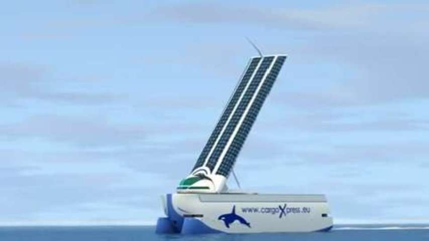 Cargoxpress, un navire porte-conteneurs écolo