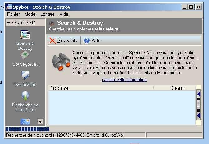 Installer et utiliser un logiciel de lutte contre les spyware, comme Spybot. © Futura-Techno
