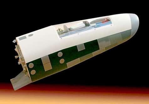 Pré-X, le futur démonstrateur de module de rentrée atmosphérique planant.