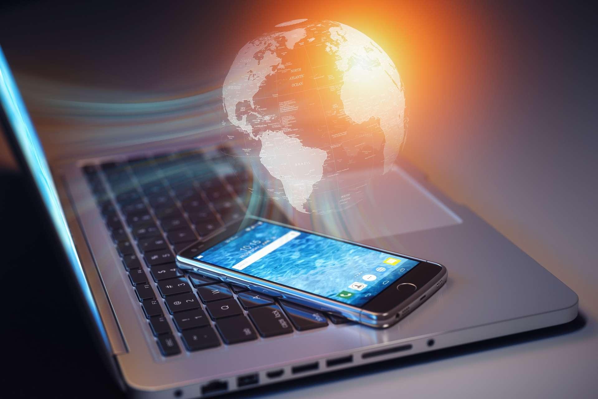 Avec les appareils numériques, la consommation des ressources va doubler d'ici 2024. © Maksym Yemelyanov