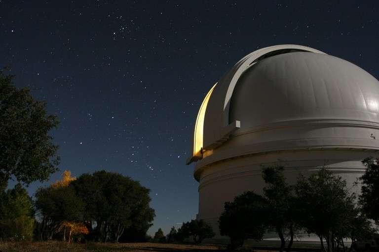 La coupole du télescope Hale au Mont Palomar. © Caltech