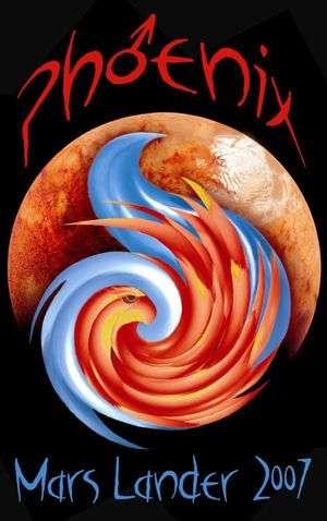 Logo de la mission Phoenix.
