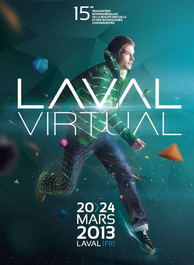 Le salon Laval Virtual se tient du 20 au 24 mars 2013. Exposants et conférences font le tour des dernières avancées en matière de réalité virtuelle et de réalité augmentée. Le samedi 23 et le dimanche 24, le salon est ouvert au public. © Laval Virtual