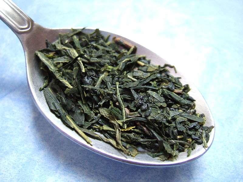 Une source d'aluminium surprenante : les feuilles du thé vert. © JohnnyMrNinja, Wikimedia Commons, cc by sa 3.0