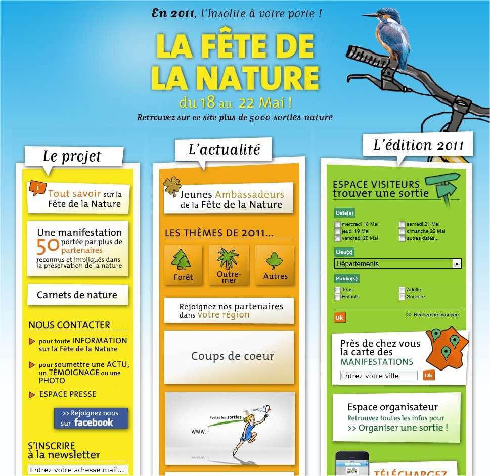 Le site dédié à la Fête de la nature nous dit tout... © La Fête de la nature