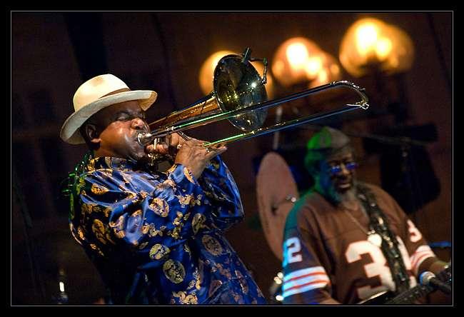 Lorsqu'ils improvisent, les musiciens de jazz voient s'activer certaines régions cérébrales impliquées dans le langage. © pavelsimana, Flickr, cc by nc 2.0