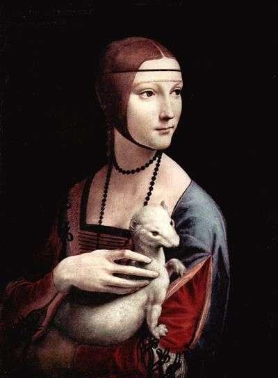 La Dame à l'Hermine (1488-1490). Crédit : musée Czartoryski