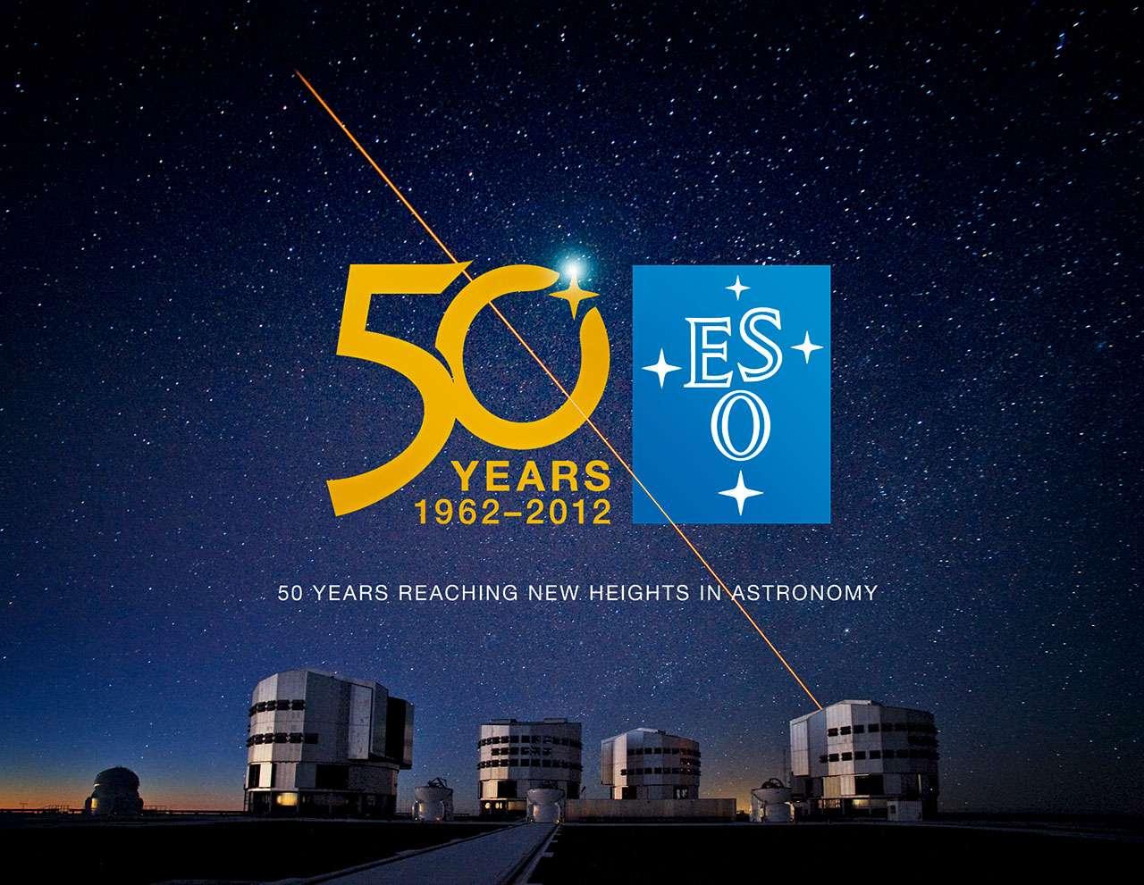 En 2012, l'Observatoire européen austral fêtera ses 50 ans. © ESO