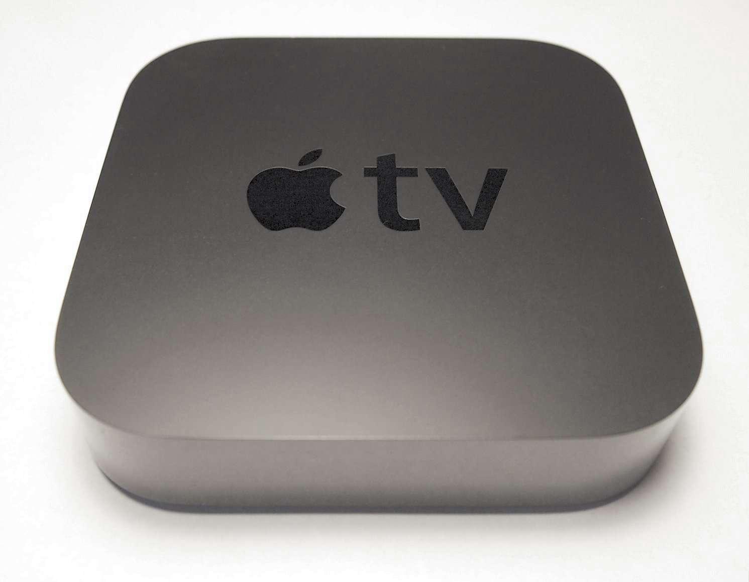 Le boîtier TV d'Apple deviendra peut-être encore un peu plus une console de jeux. © Apple