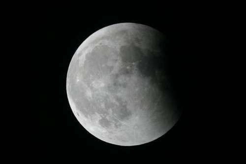 Éclipse partielle de Lune visible en Europe, Afrique, Asie et Australie