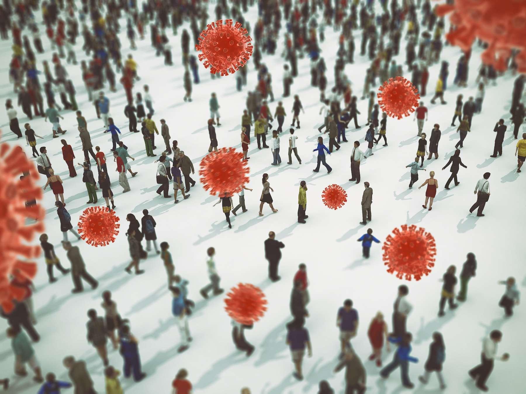 59 % des transmissions du coronavirus seraient le fait de personnes asymptomatiques. © alphaspirit, Adobe Stock