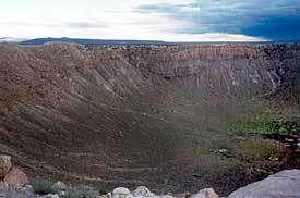 Meteor craterCrédit : http://www.coniferhouse.com