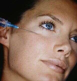 Injection de collagène, crédits DR.