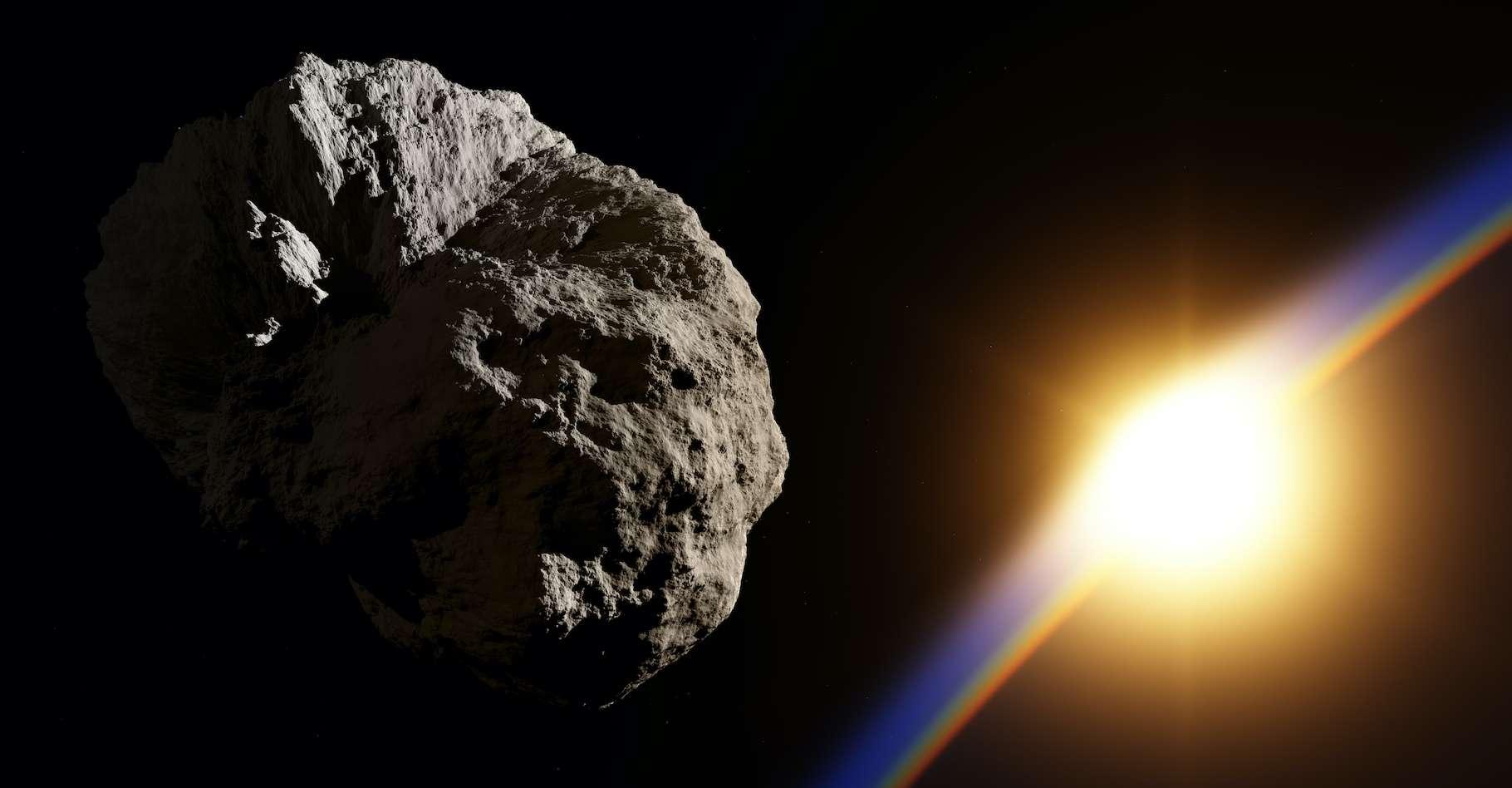 Une nouvelle famille d'astéroïdes pourrait avoir été découverte à l'intérieur de l'orbite de Vénus. © Shawn Hempel, Adobe Stock