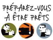 L'affiche et le slogan de la journée mondiale des premiers secours, qui aura lieu le 11 septembre 2010. © Croix-Rouge