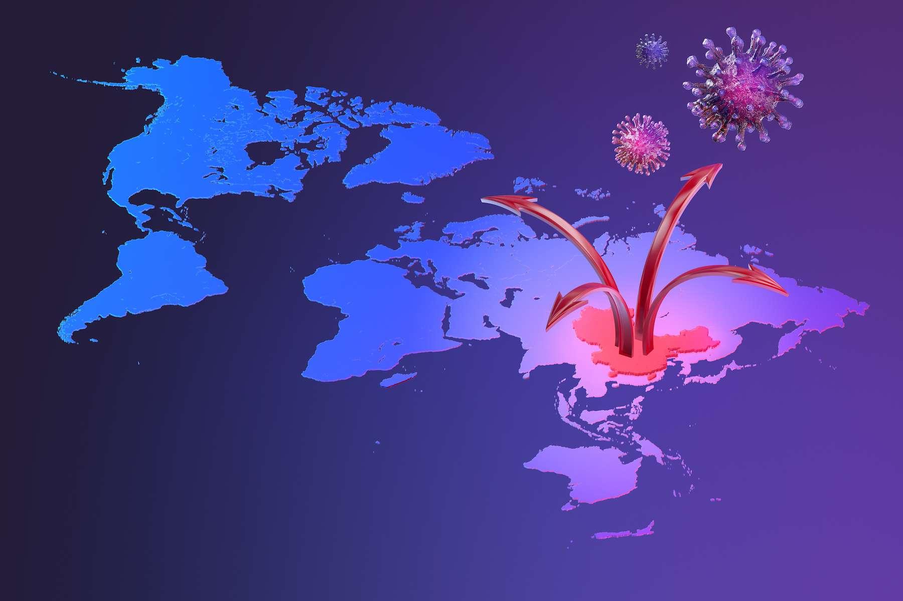 L'épidémie de coronavirus aurait démarré à Wuhan dès le mois de septembre 2019. © Corona Borealis, Adobe Stock