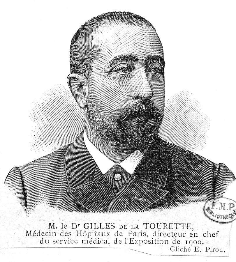 Portrait de Georges Gilles de la Tourette (1857-1904). Il est le découvreur du trouble neurologique héréditaire qui porte son nom. © Wikipédia, DP
