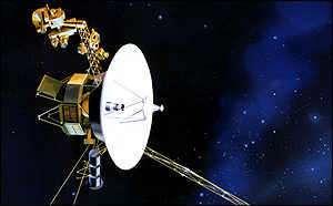 Les sondes Voyager 1 et 2 envoyées en 1977 pour explorer les 4 planètes géantes de notre système solaire