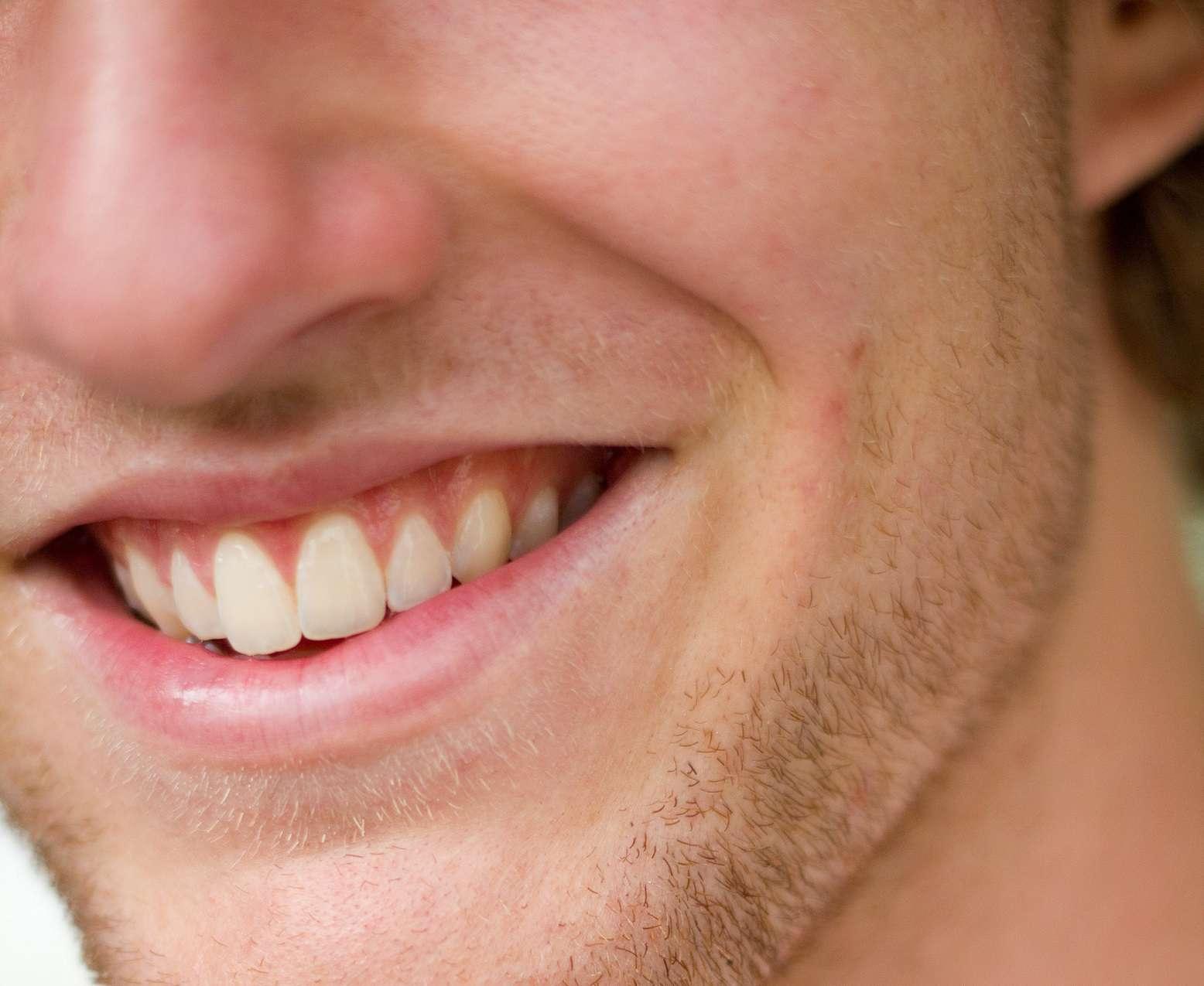 Les muscles zygomatiques se contractent pour sourire. © Tom Newby, Flickr, CC by 2.0