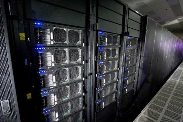 Le superordinateur Roadrunner d'IBM. © LANS