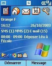 Windows Mobile 2003 : nouveau logiciel pour les téléphones portables