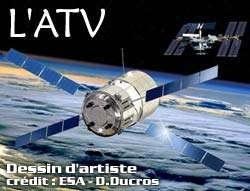 Réussite des essais de déploiement des panneaux solaires de l'ATV, le cargo de ravitaillement européen de l'ISS