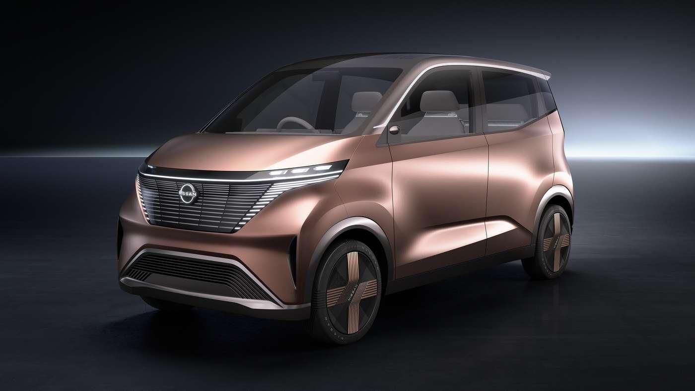 La Nissan IMk fera ses débuts au salon de Tokyo. © Nissan