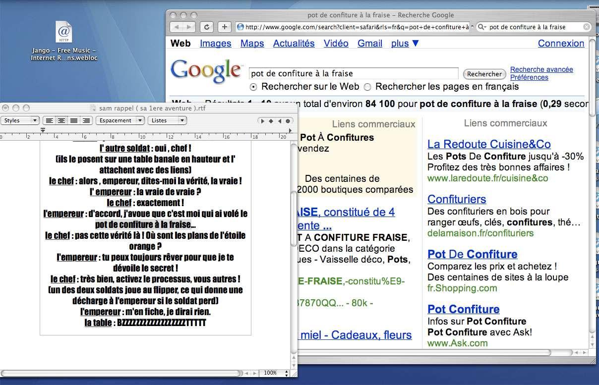 Faire une recherche Google depuis un document quelconque - Crédits : Futura-Sciences