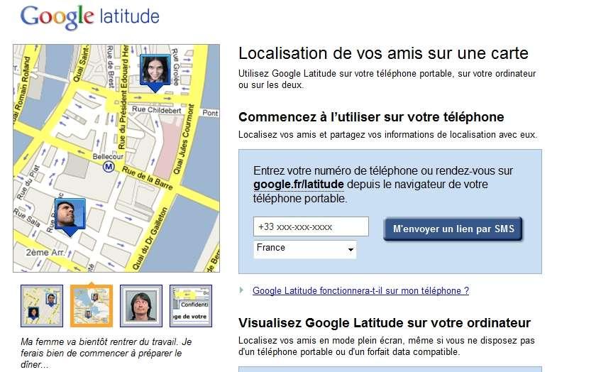 Google n'a pas effectué de déclaration à la Cnil concernant la collecte de données personnelles via son service Latitude. © Google