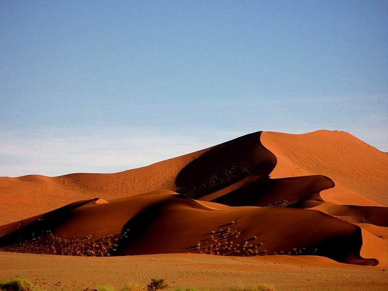 Canyons, pseudo-volcan, désert, stromatolithes... : la géologie de la Namibie est variée et surprenante. © DR